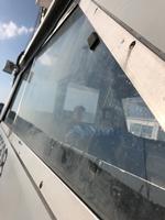 操舵室のガラス左側面