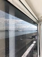 操舵室のガラスアップ1