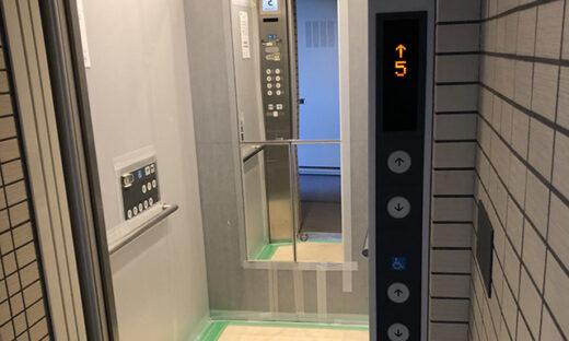 エレベーター鏡